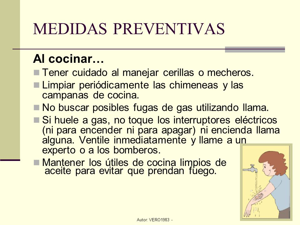 Prevenci n y lucha cocinas ppt video online descargar for Medidas para cocinar