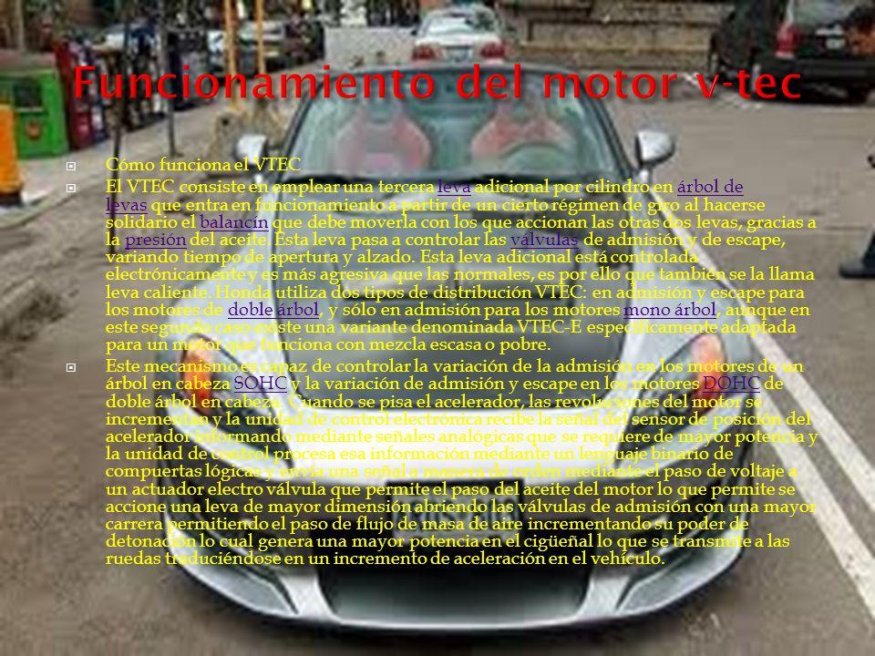 Funcionamiento del motor v-tec