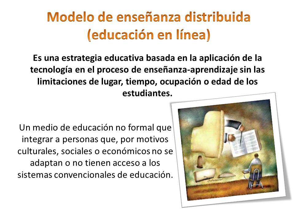 Modelo de enseñanza distribuida