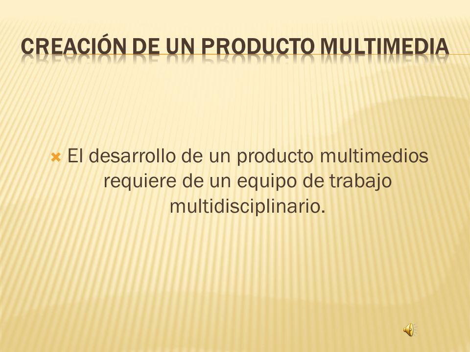 Creación de un producto multimedia