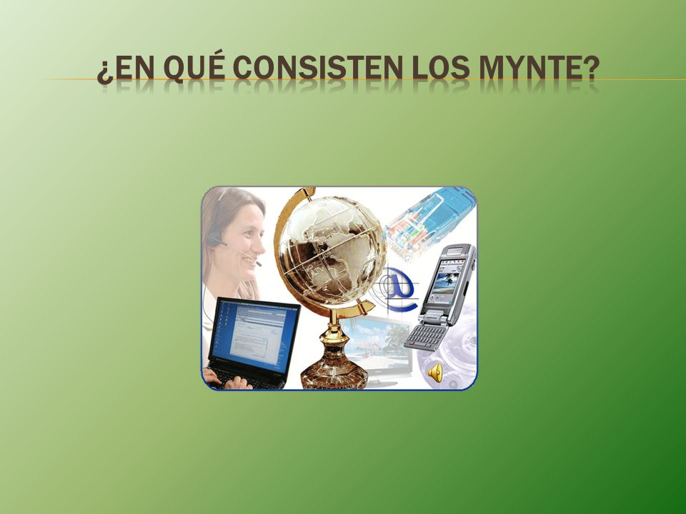 ¿En qué consisten los MYNTE