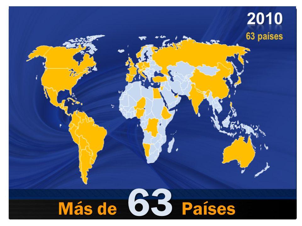 63 Más de Países