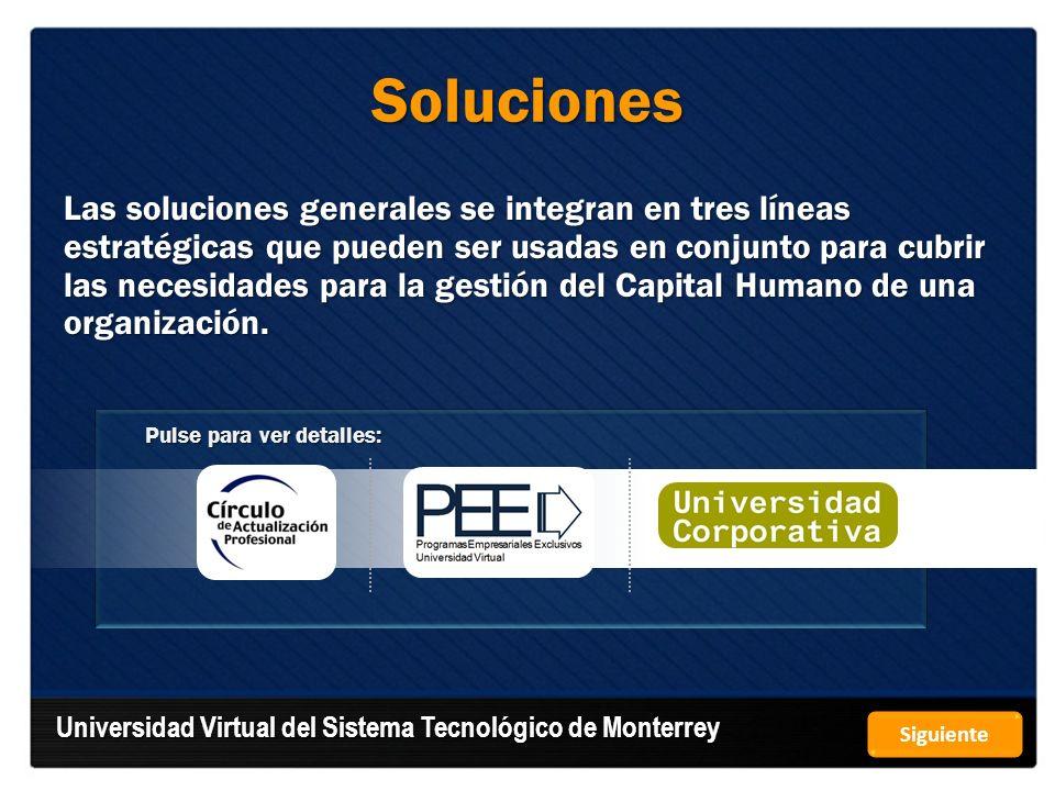Soluciones Universidad Virtual del Sistema Tecnológico de Monterrey