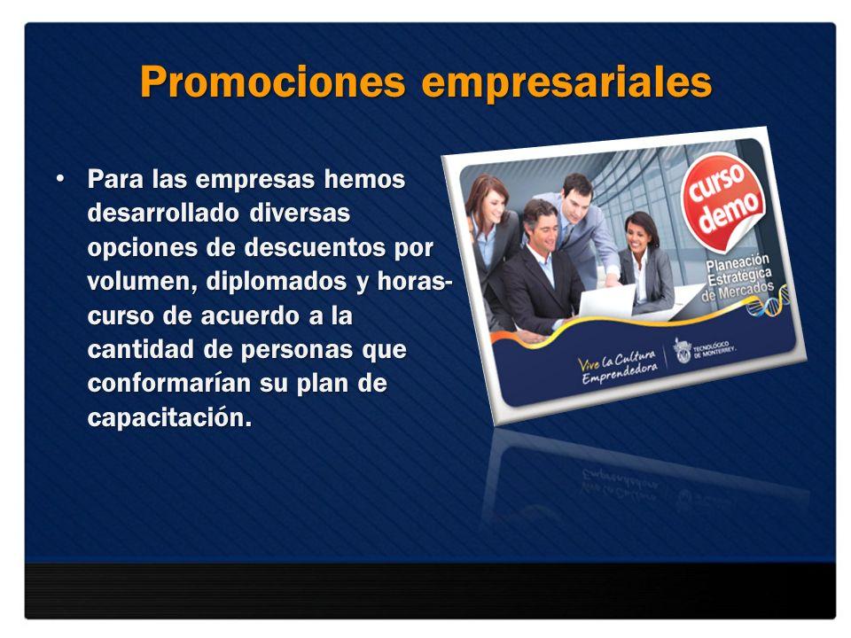 Promociones empresariales