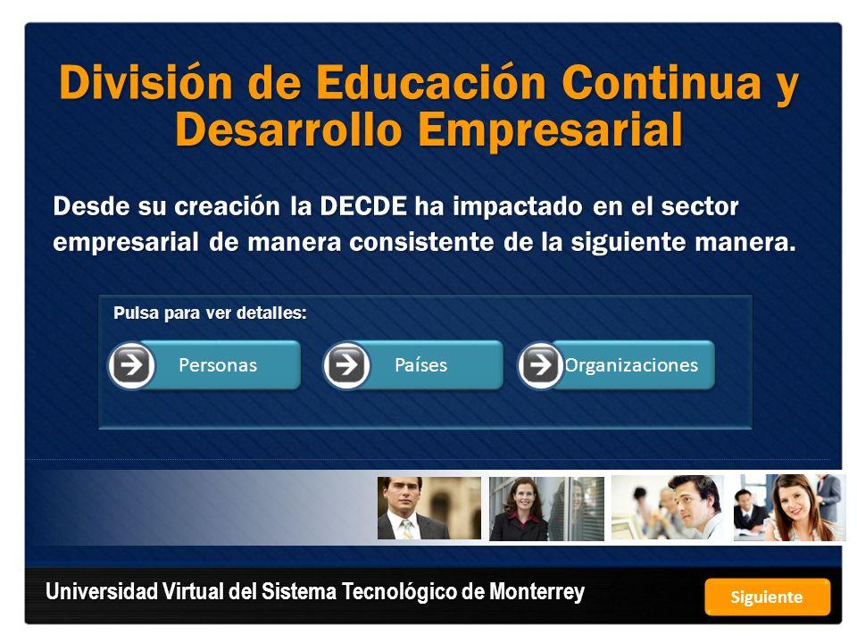 División de Educación Continua y Desarrollo Empresarial