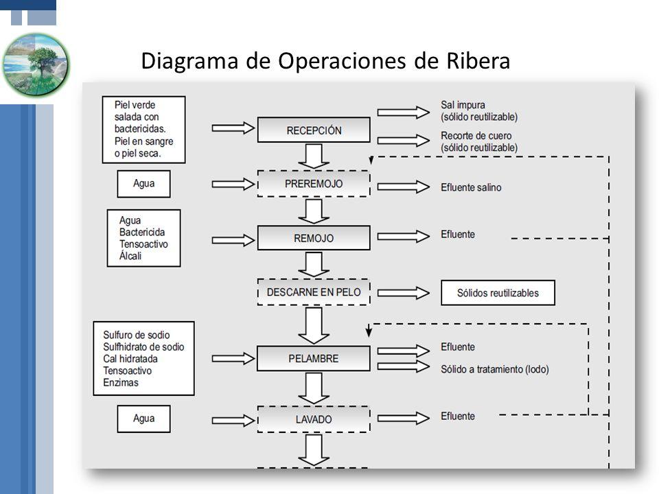 Diagrama de Operaciones de Ribera