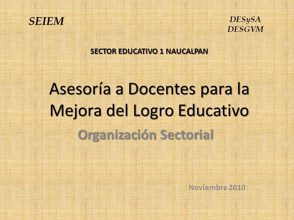 Organización Sectorial Noviembre 2010