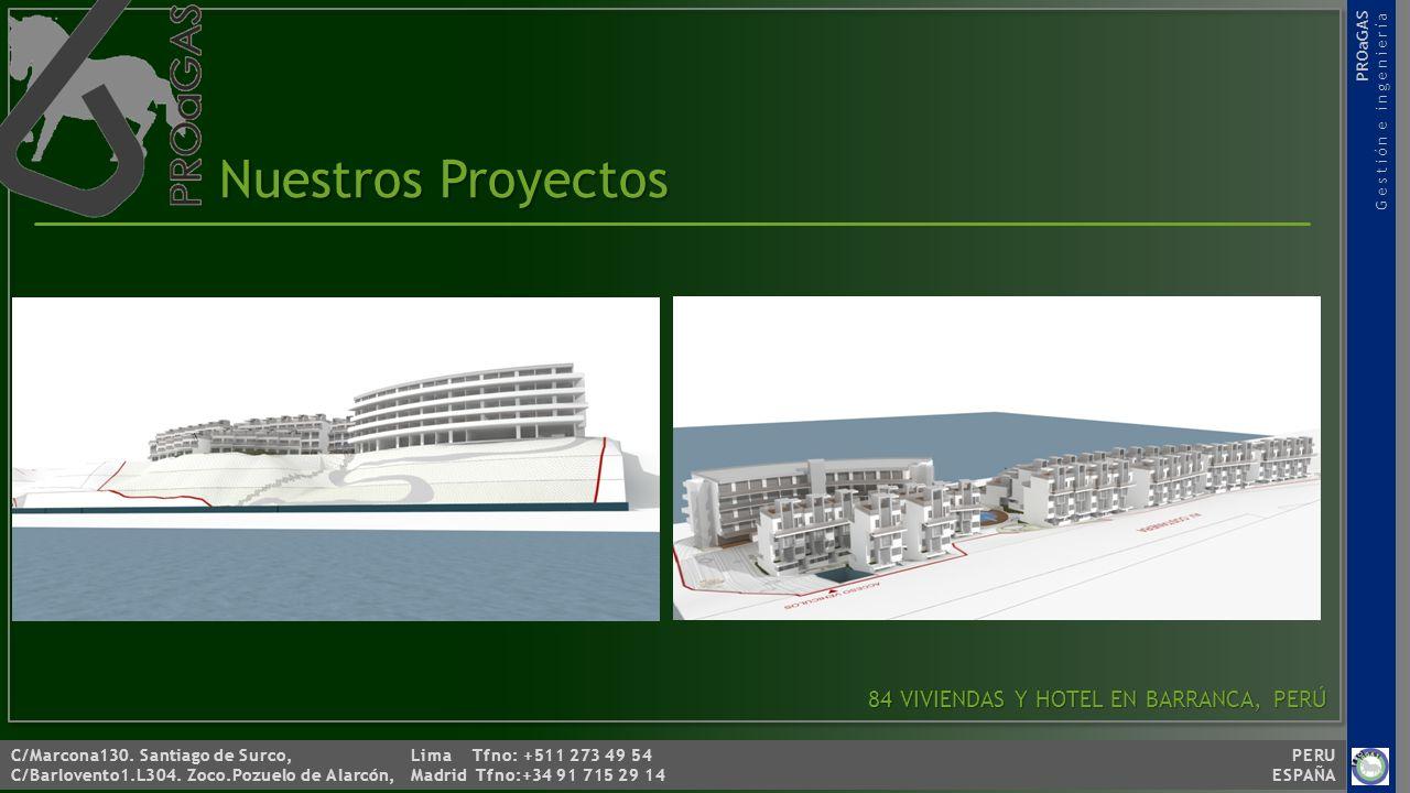 Nuestros Proyectos 84 VIVIENDAS Y HOTEL EN BARRANCA, PERÚ