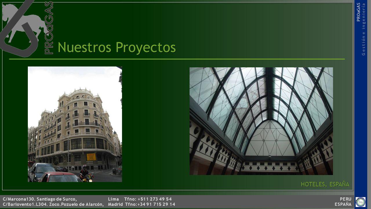 Nuestros Proyectos HOTELES, ESPAÑA