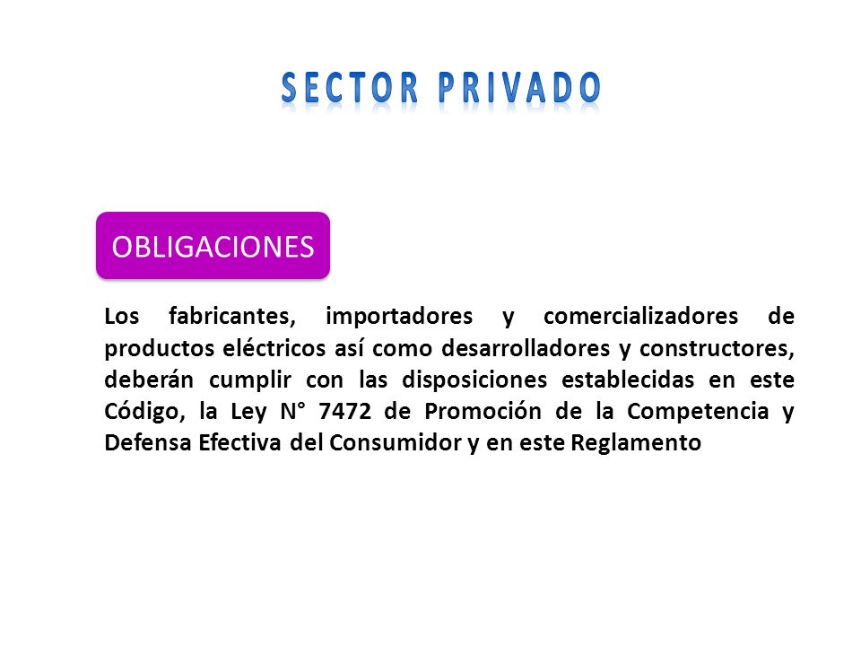 OBLIGACIONES SECTOR PRIVADO