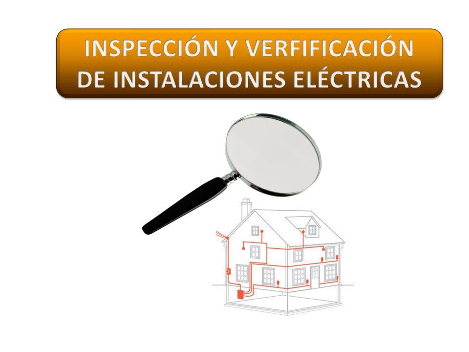 INSPECCIÓN Y VERFIFICACIÓN DE INSTALACIONES ELÉCTRICAS