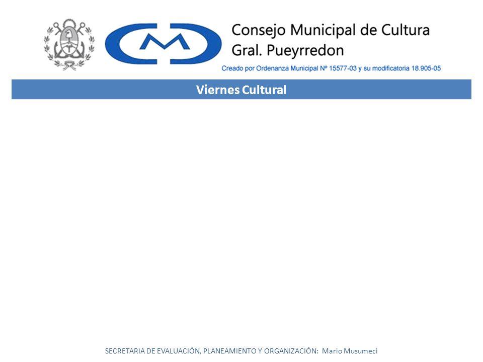 SECRETARIA DE EVALUACIÓN, PLANEAMIENTO Y ORGANIZACIÓN: Mario Musumeci