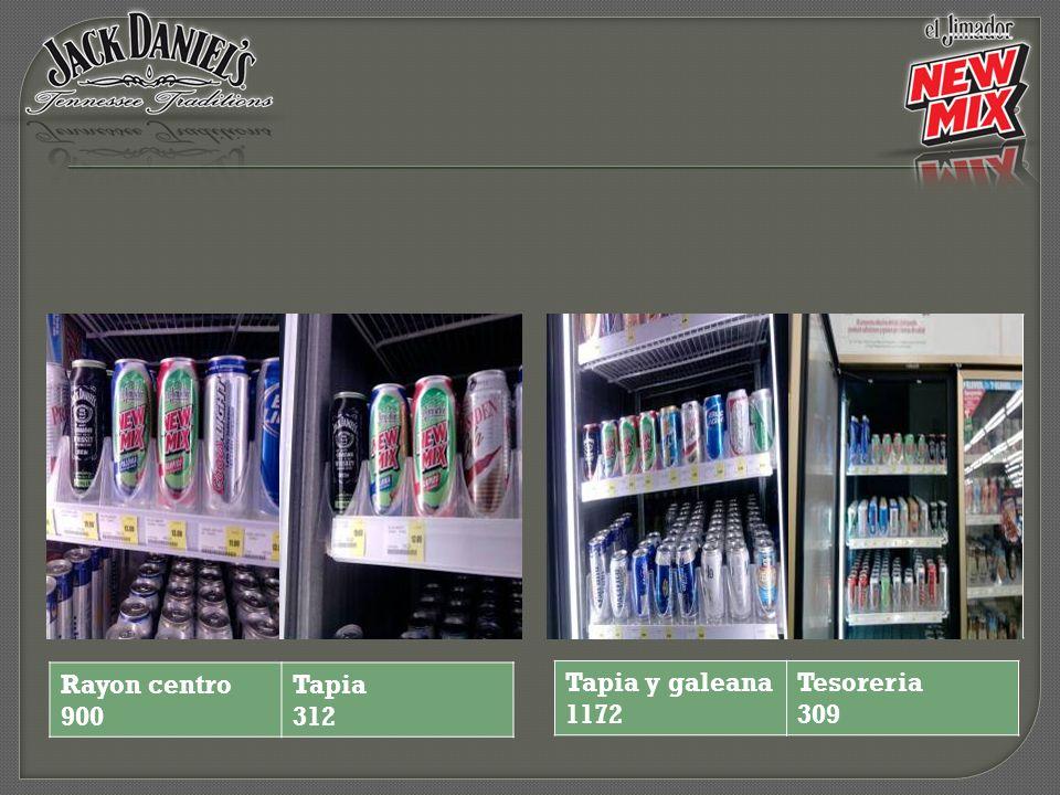 Rayon centro 900 Tapia 312 Tapia y galeana 1172 Tesoreria 309
