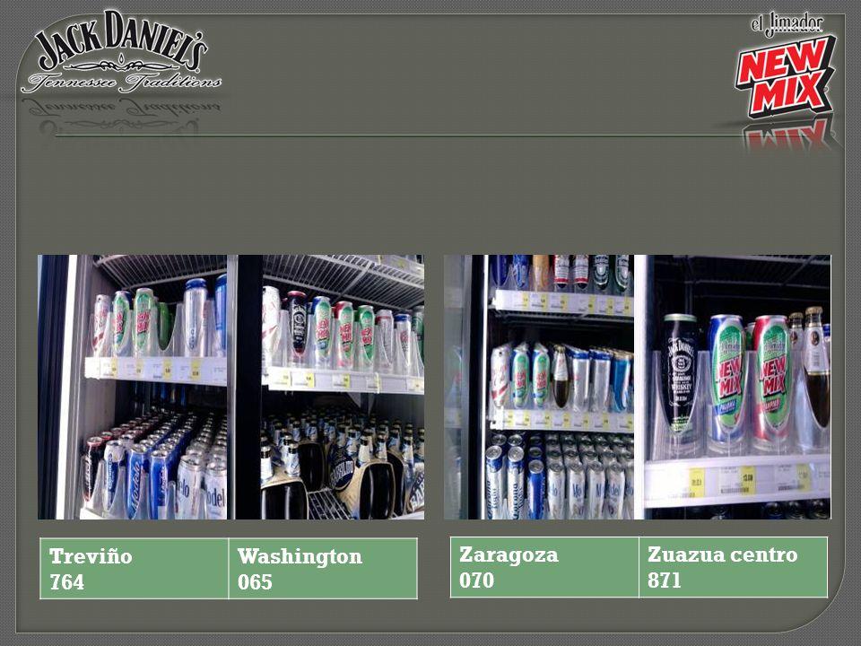 Treviño 764 Washington 065 Zaragoza 070 Zuazua centro 871