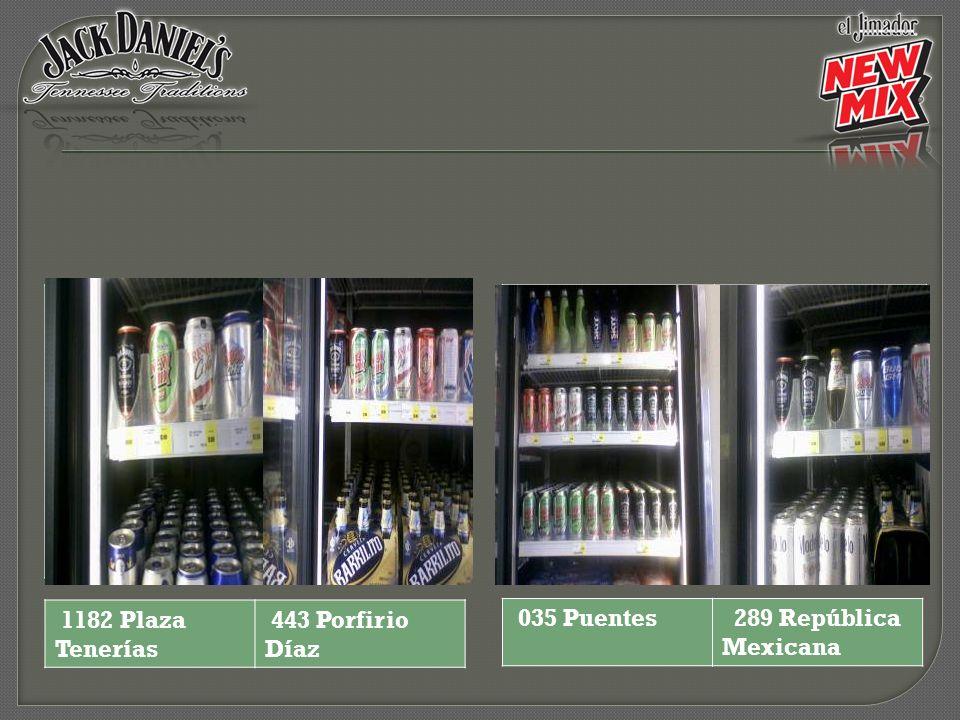 1182 Plaza Tenerías 443 Porfirio Díaz 035 Puentes 289 República Mexicana