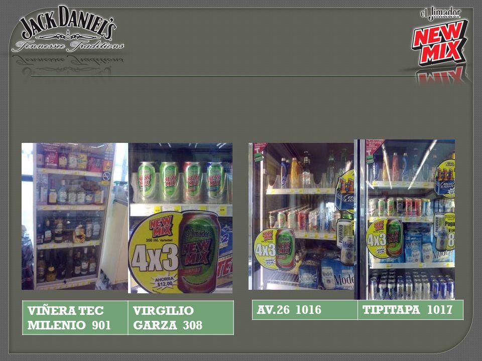 VIÑERA TEC MILENIO 901 VIRGILIO GARZA 308 AV.26 1016 TIPITAPA 1017