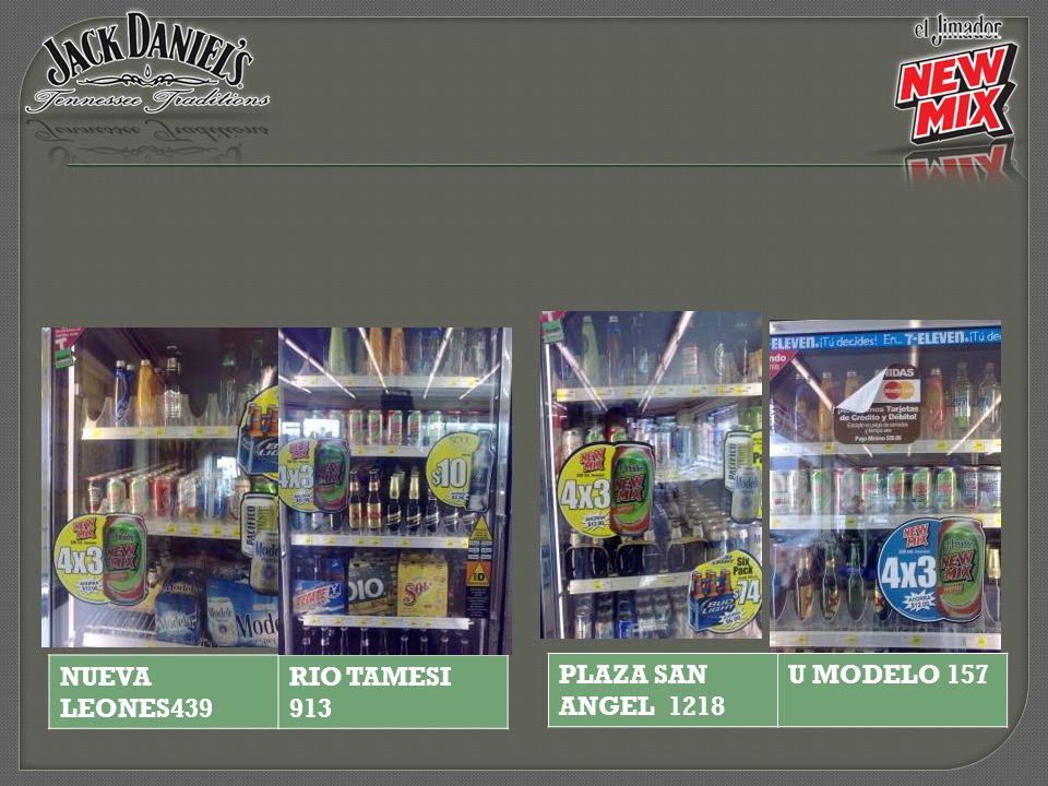 NUEVA LEONES439 RIO TAMESI 913 PLAZA SAN ANGEL 1218 U MODELO 157