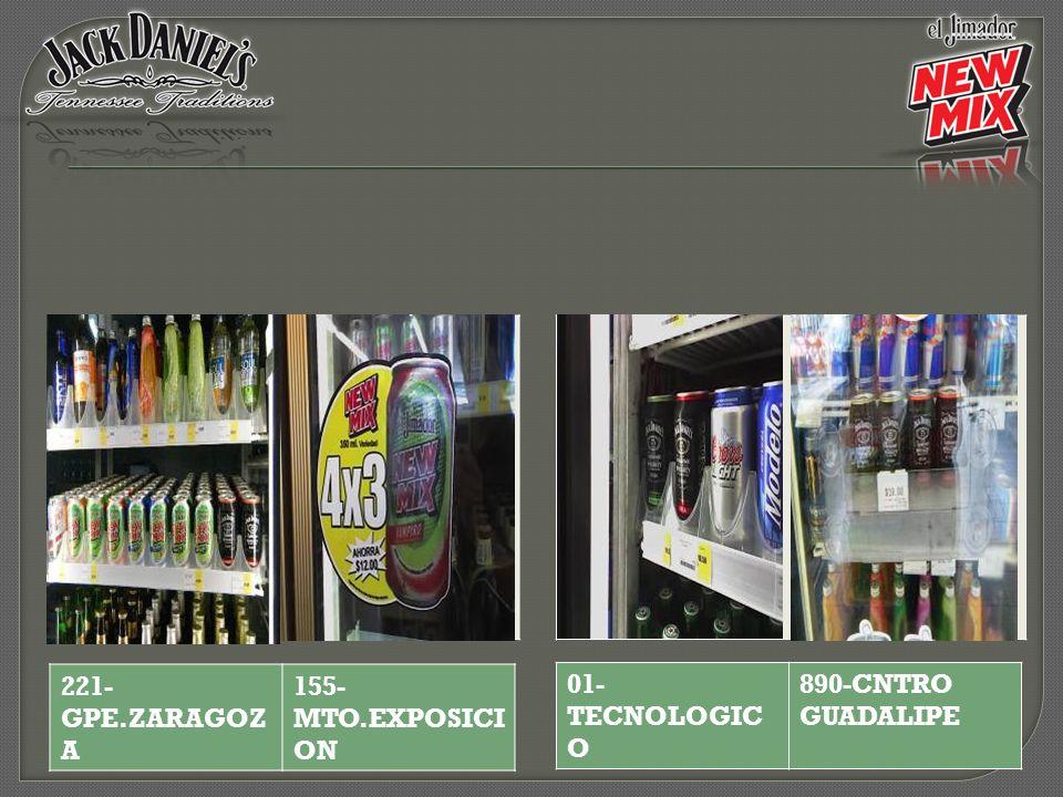 221-GPE.ZARAGOZA 155-MTO.EXPOSICION 01-TECNOLOGICO 890-CNTRO GUADALIPE