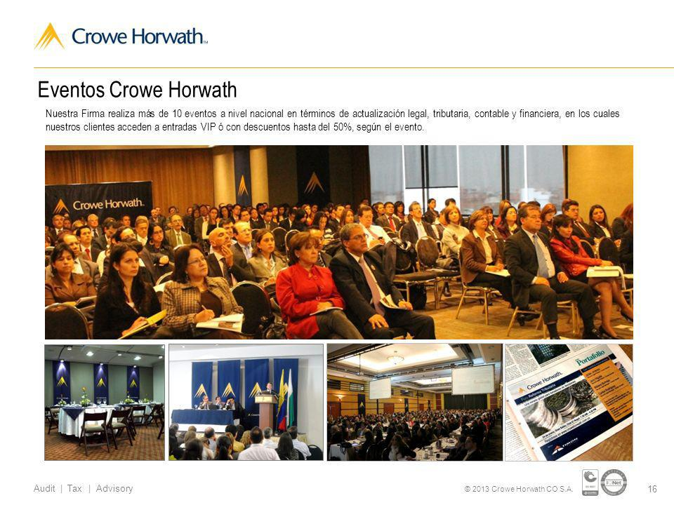 Eventos Crowe Horwath