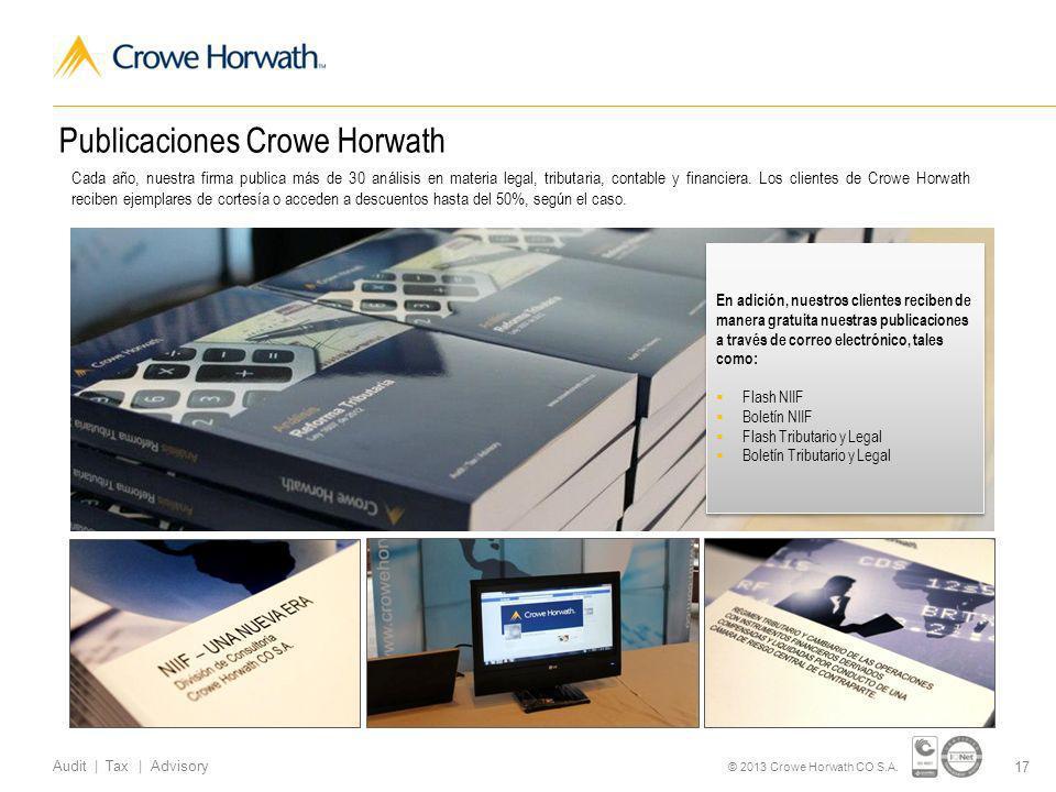 Publicaciones Crowe Horwath