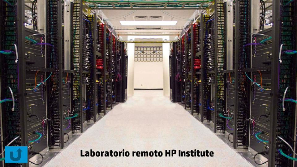 Laboratorio remoto HP Institute