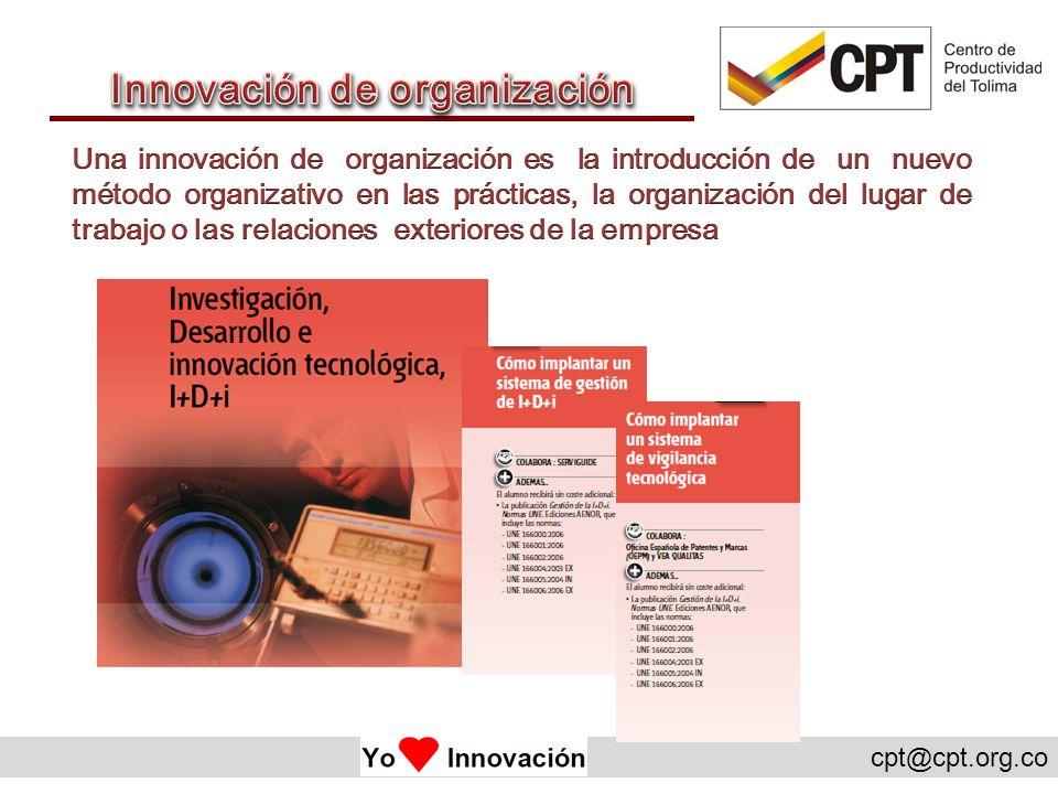 Innovación de organización