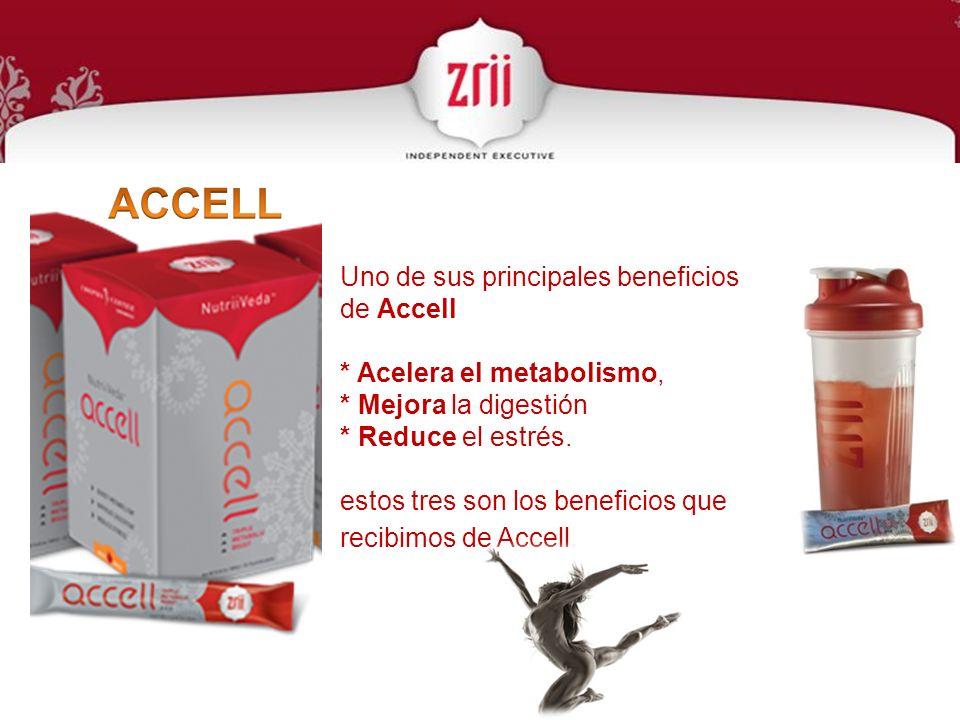 ACCELL Uno de sus principales beneficios de Accell