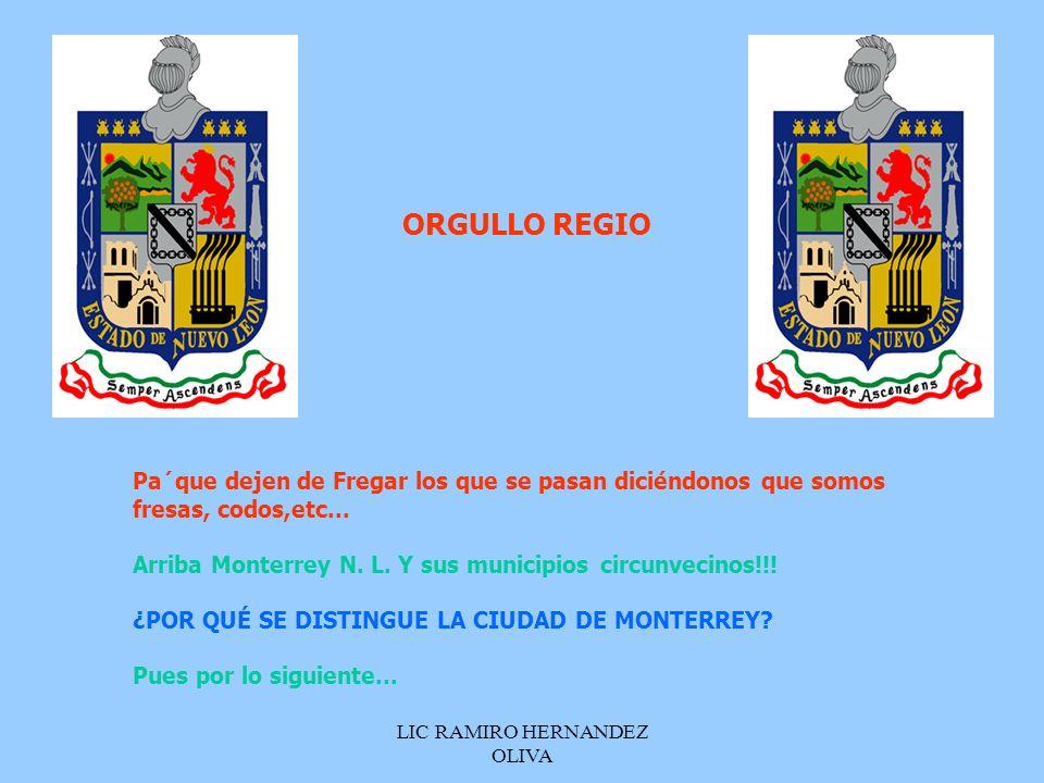 LIC RAMIRO HERNANDEZ OLIVA