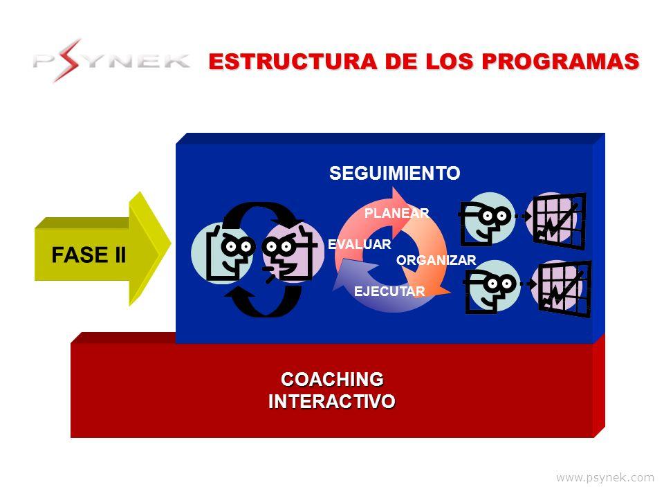 ESTRUCTURA DE LOS PROGRAMAS