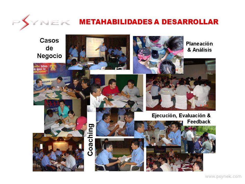 METAHABILIDADES A DESARROLLAR