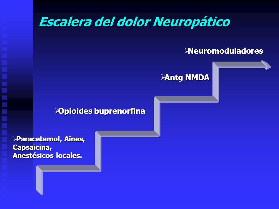 Escalera del dolor Neuropático