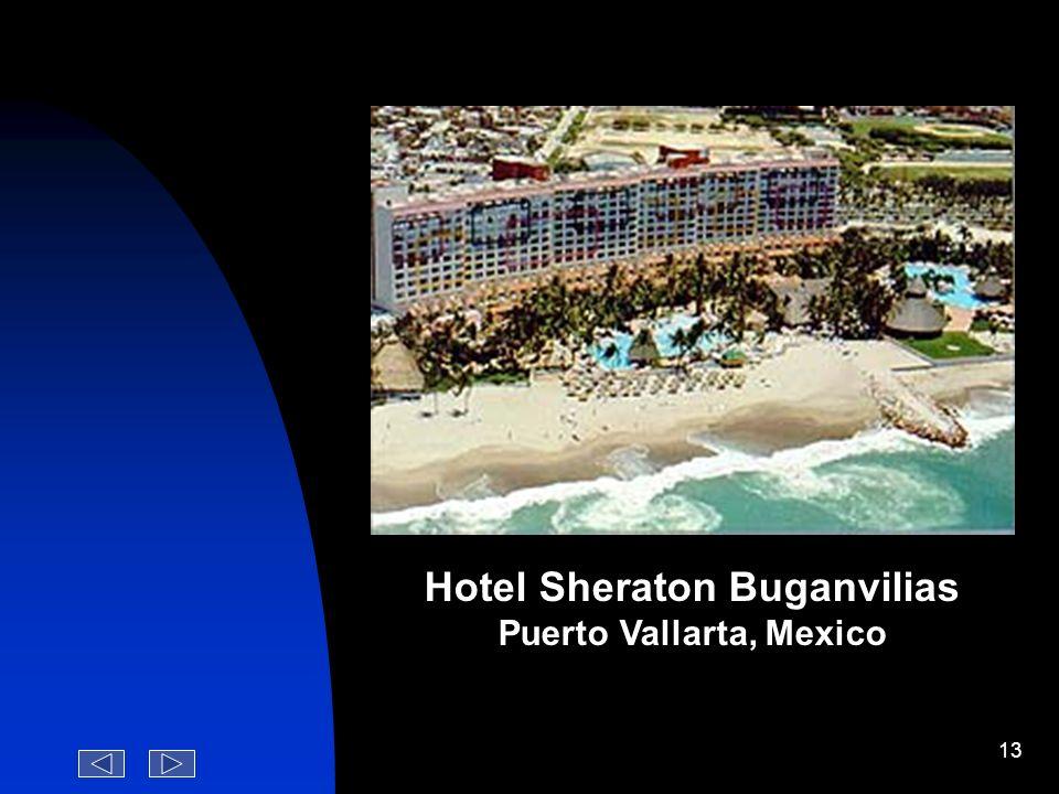 Hotel Sheraton Buganvilias Puerto Vallarta, Mexico