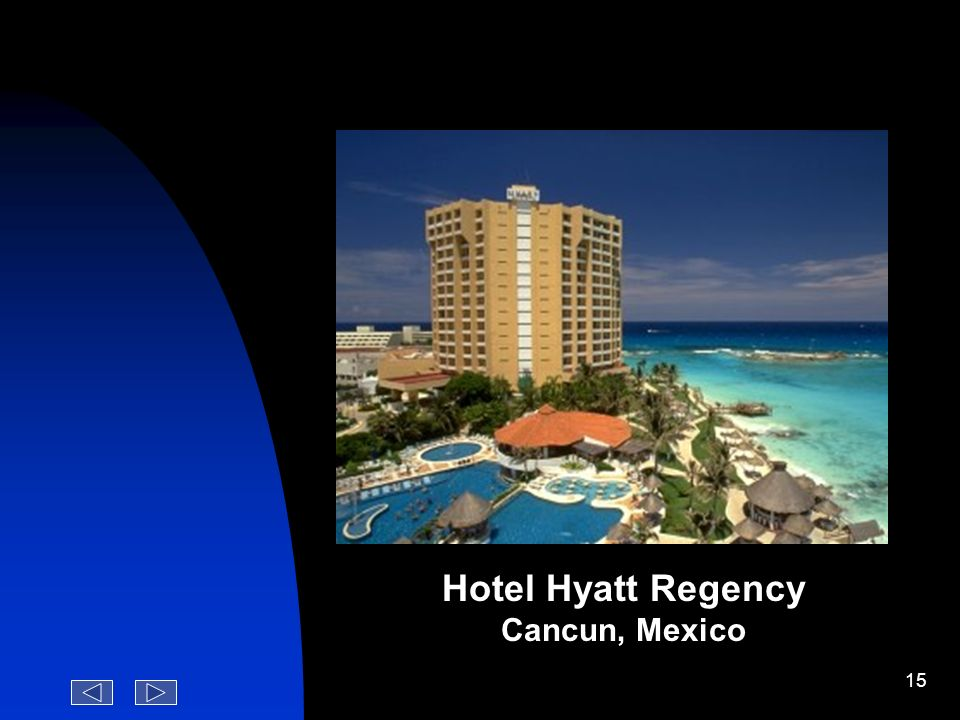 Hotel Hyatt Regency Cancun, Mexico