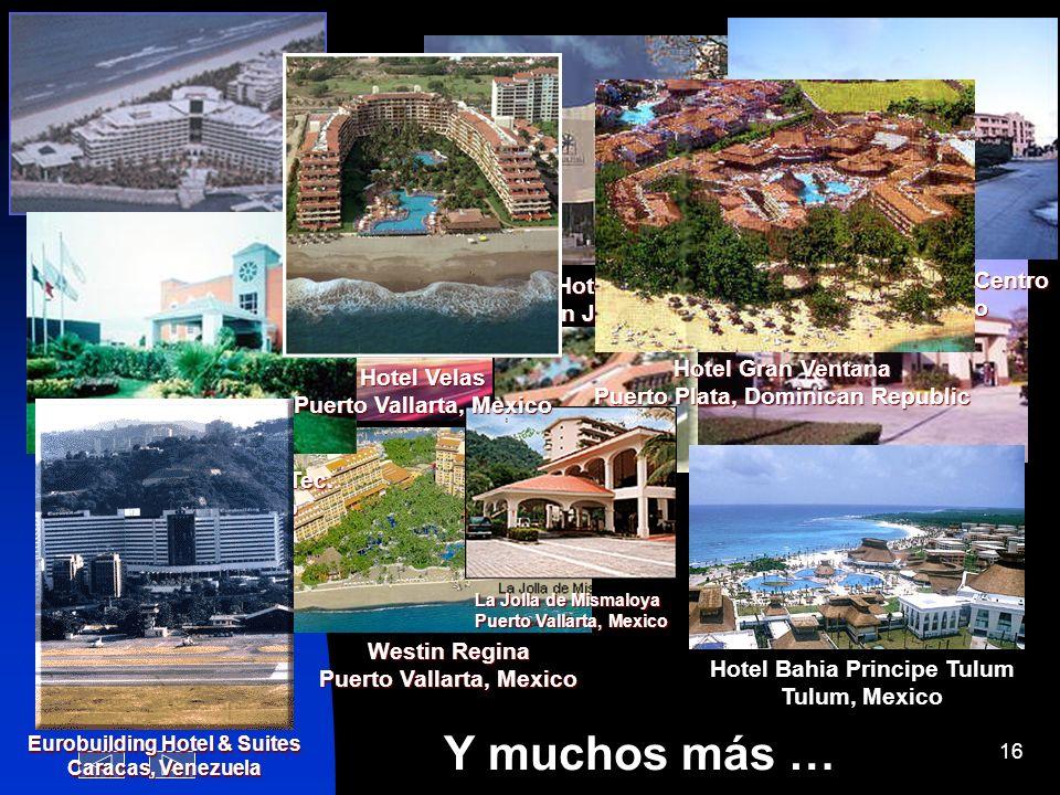 Y muchos más … Paradise Village Nuevo Vallarta, Mexico