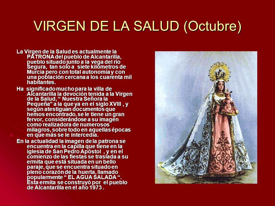 VIRGEN DE LA SALUD (Octubre)