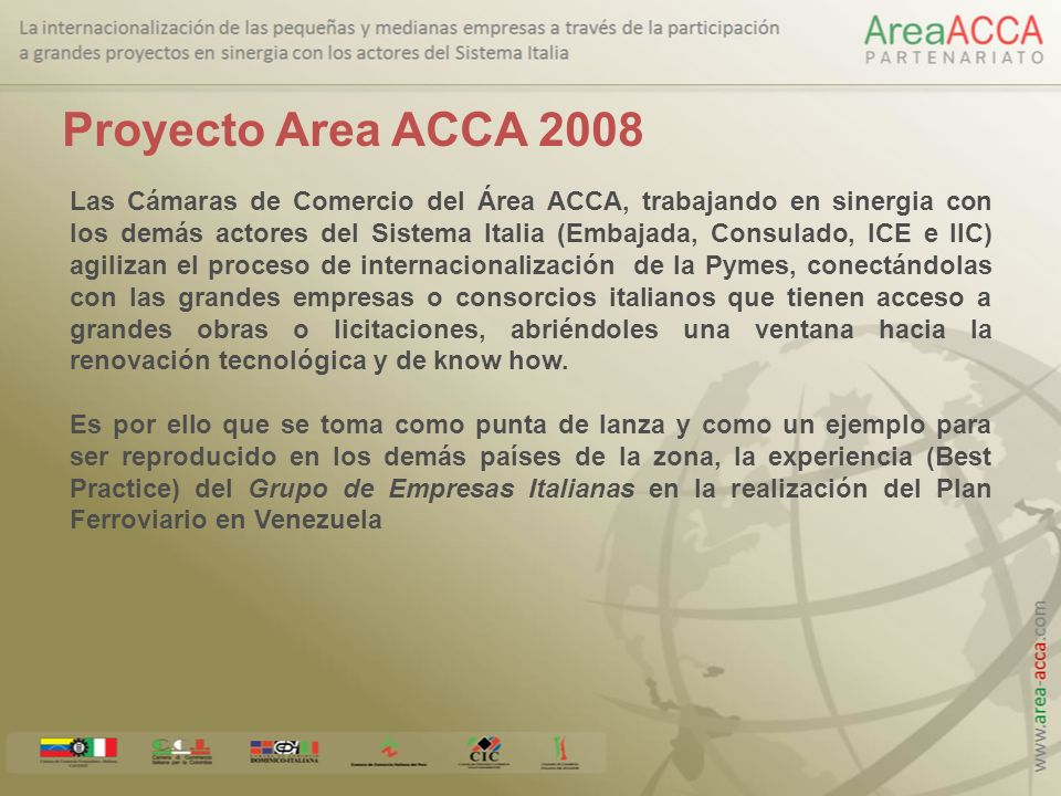 Proyecto Area ACCA 2008