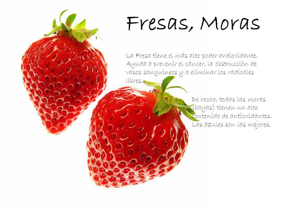 Fresas, Moras