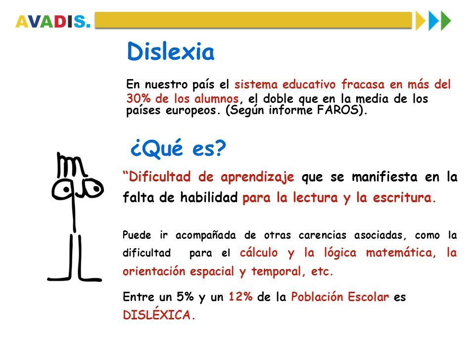 Dislexia En nuestro país el sistema educativo fracasa en más del.