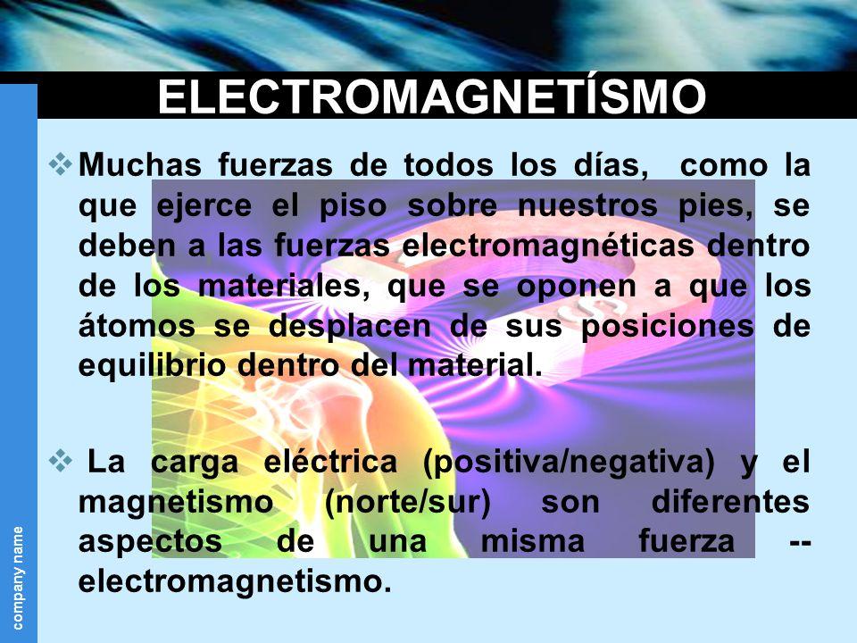 ELECTROMAGNETÍSMO