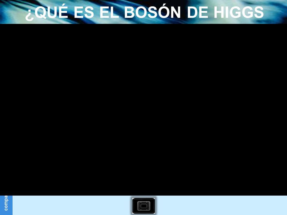 ¿QUÉ ES EL BOSÓN DE HIGGS