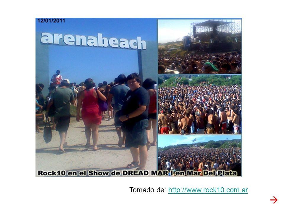 Tomado de: http://www.rock10.com.ar