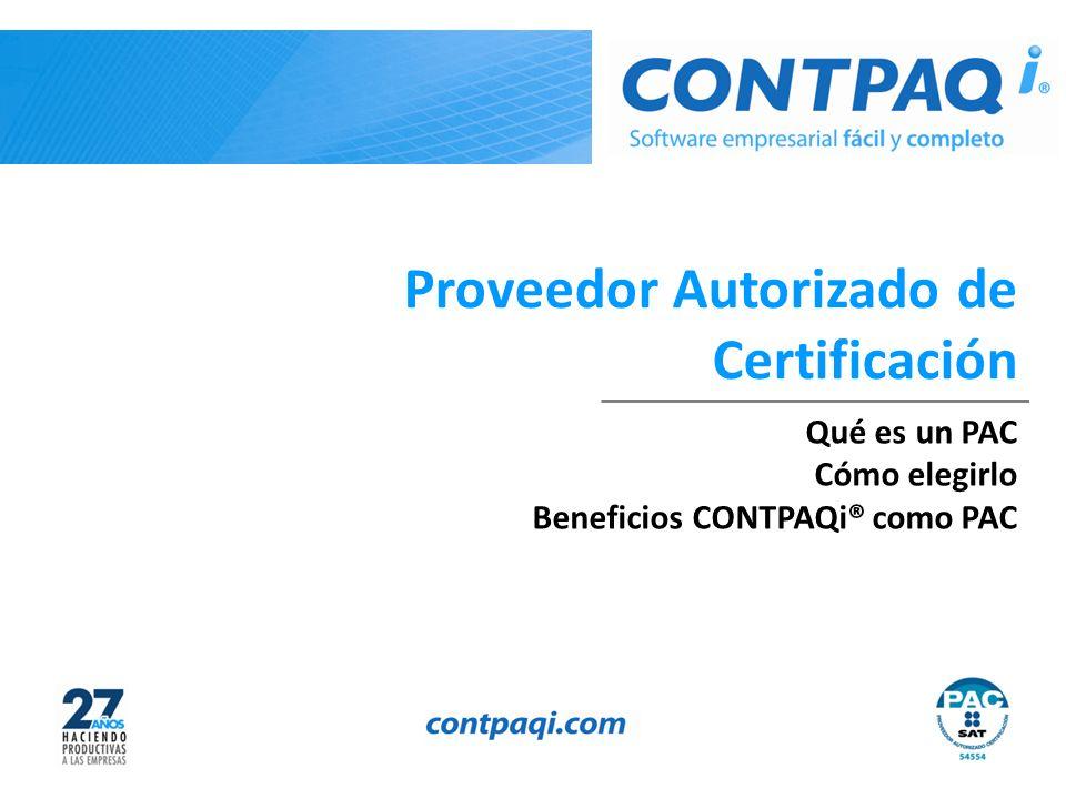 Proveedor Autorizado de Certificación