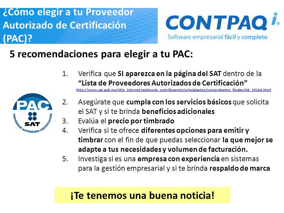 ¿Cómo elegir a tu Proveedor Autorizado de Certificación (PAC)