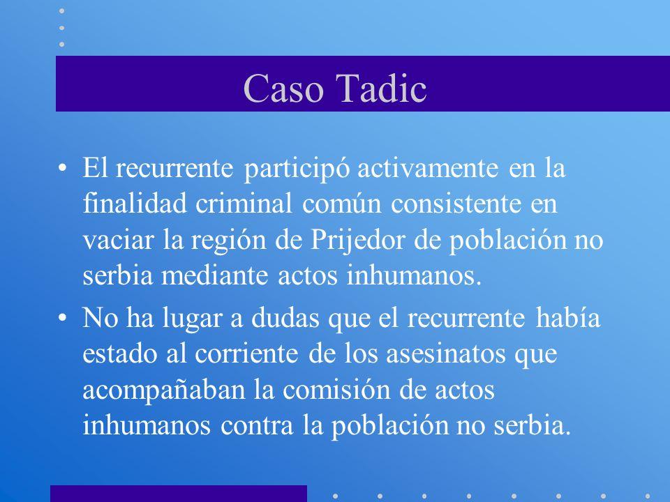 Caso Tadic