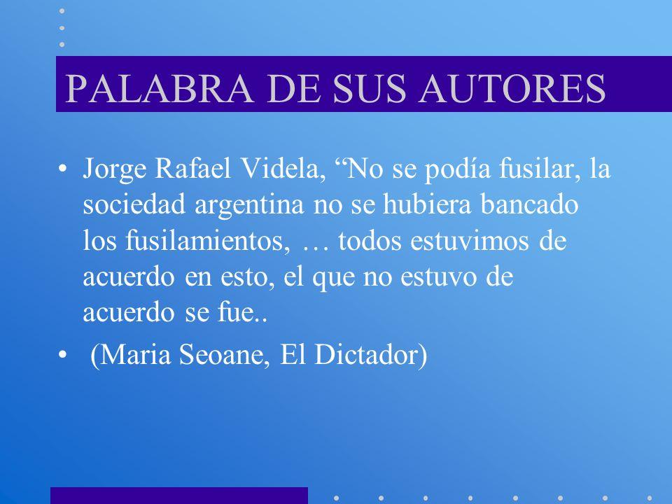 PALABRA DE SUS AUTORES