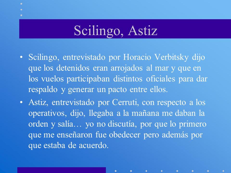 Scilingo, Astiz