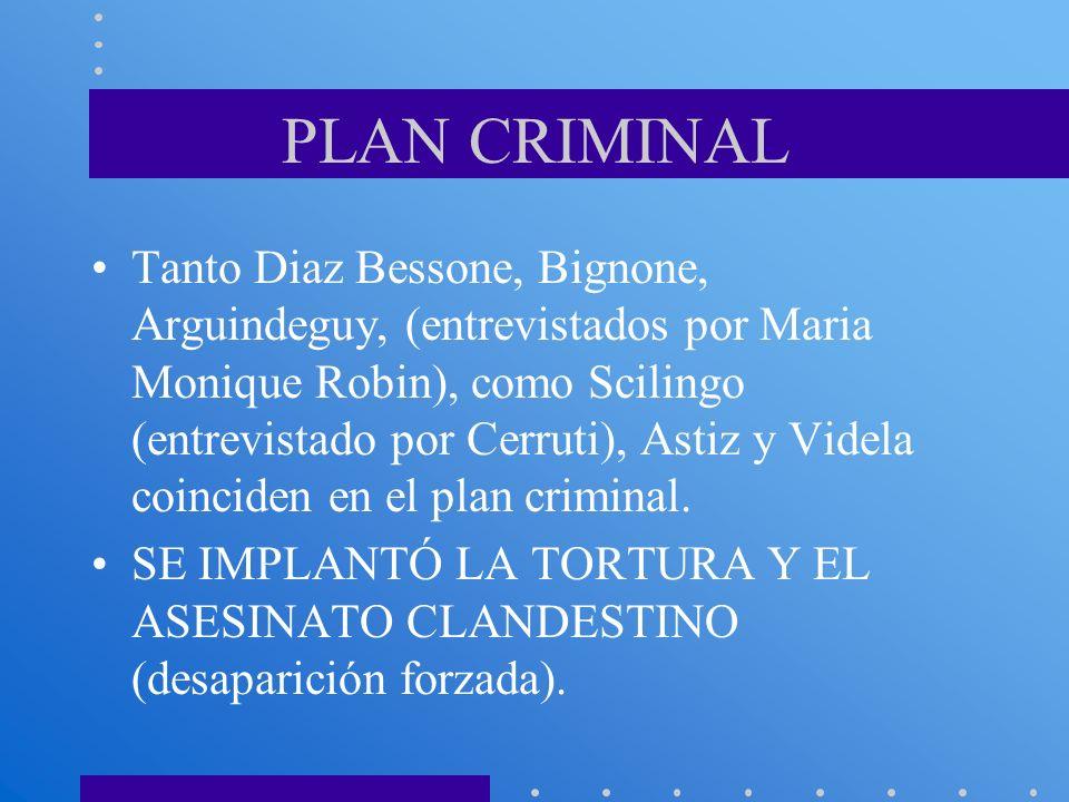 PLAN CRIMINAL