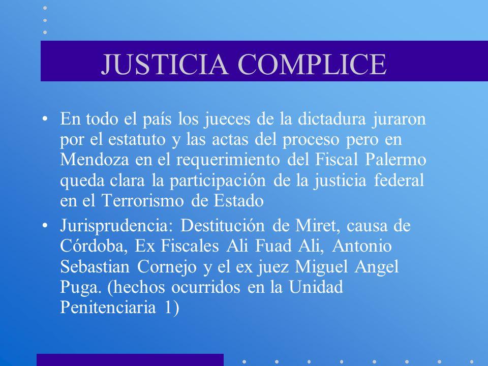 JUSTICIA COMPLICE