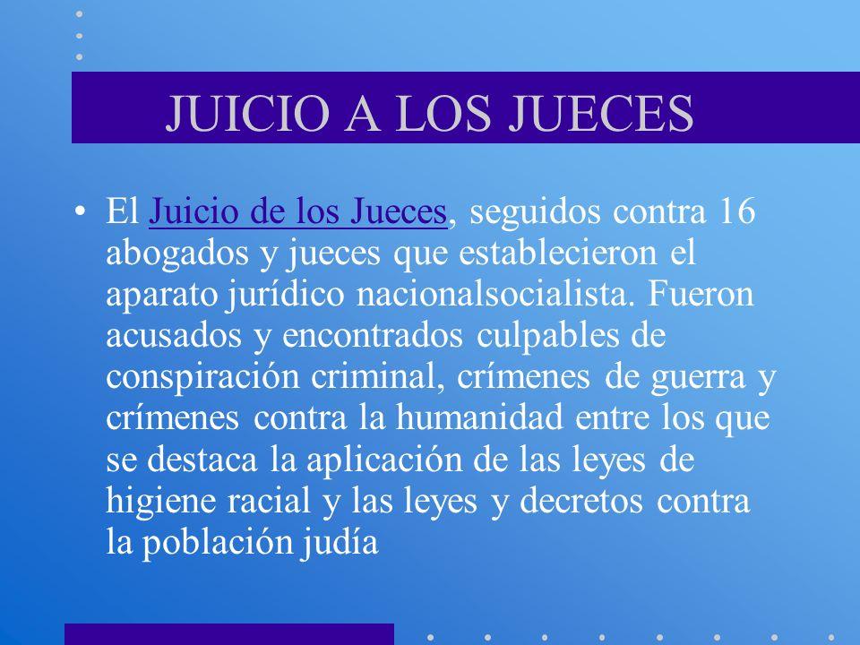 JUICIO A LOS JUECES