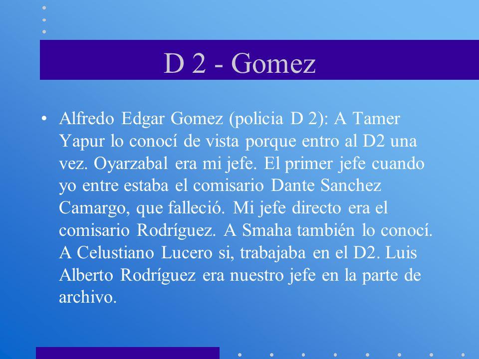 D 2 - Gomez